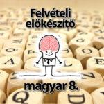 Magyar felvételi előkészítő 8.